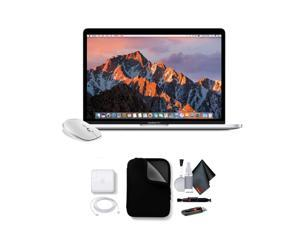 """Apple 13"""" MacBook Pro, Retina Display, 2.3GHz Intel Core i5 Dual Core, 8GB RAM, 128GB SSD, Silver, With Case And Mouse"""