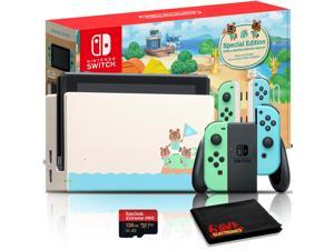 Nintendo Switch Animal Crossing: New Horizons Edition Console + 128GB microSD