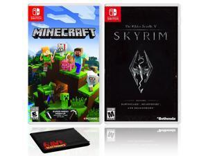 Minecraft + The Elder Scrolls V: Skyrim - Two Game Bundle - Nintendo Switch