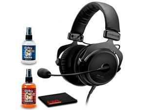 Beyerdynamic MMX 300 (2nd Gen) Premium Gaming Headset Bundled with Cleaning Kit