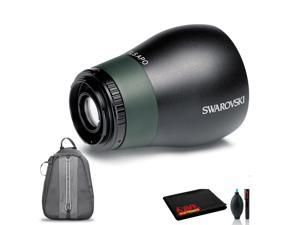 Swarovski TLS APO 23mm Digiscoping Lens for ATS/STS/ATM/STM/STR Spotting Scopes with Cleaning Kit, Backpack Carry Case, and 1-Year Extended Warranty