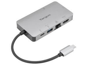USB-C DP ALT MODE SINGLE VIDEO 4K HDMI/VGA DOCKING STATION W/ 100W PD PASS-THRU