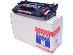 microMICR MICR Toner Cartridge Alternative for HP 58X Black MICRTHN58X