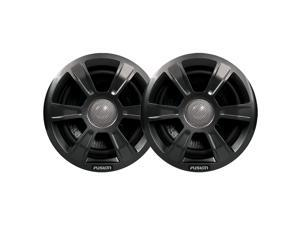 """FUSION MS-FR6GSP 6"""" Grill Covers - Grey Spoke Sport Style f/FR-Series Speakers"""