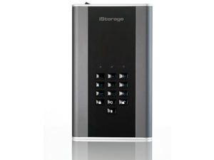 iStorage diskAshur DT2 14TB Hardware Encrypted Desktop Hard Drive USB 3.1 AES-XTS 256-bit – Classified - Graphite (IS-DT2-256-14000-C-G)
