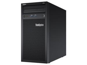 Lenovo ThinkSystem ST50 Tower Server, Intel Xeon 3.4GHz CPU, 32GB DDR4 2666MHz RAM, 6TB HDD Storage, JBOD RAID