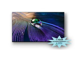 """Sony XR55A90J 55"""" A90J Series HD OLED 4K Smart TV with an Additional 1 Year Coverage by Epic Protect (2021)"""