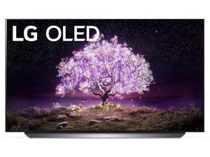 """LG OLED55C1PUB 55"""" 4K Ultra High Definition OLED Smart C1 Series TV with a Walts TV Large/Extra Large Tilt Mount for 43""""-90"""" Compatible TV's and a Walts HDTV Screen Cleaner Kit (2021)"""
