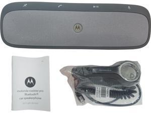 Motorola Moto Roadster Pro Bluetooth Car Kit Stereo SpeakerPhone TZ900