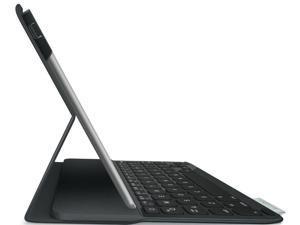 Logitech Ultrathin Keyboard Folio Case Tech Fabric for iPad 5, Air - Carbon Black