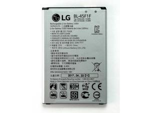 LG Li-ion Phone Battery 3.85V Typ 2500mAh 9.6Wh BL-45F1F EAC63321601 YBY New OEM