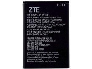 ZTE OEM Li-ion Cell Phone Battery 3.8V 2115mAh 8.0Wh LI3820T43P4H694848 4.35V 2035mAh 7.7Wh GB 31241