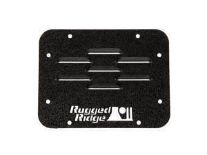 Rugged Ridge 11586.10 Tire Carrier Delete Plate Fits 07-18 Wrangler (JK)