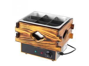 CN Plug 220V 9 Frames Multi-functional Kanto Cooking Machine Snack Cooking Pot Equipment
