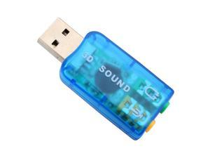 USB Sound Card USB Audio 5.1 External USB Sound Card Audio Adapter Mic Speaker Audio Interface For Laptop PC Micro Data