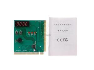 PCI & ISA Motherboard Analyzer Diagnostic Display 4-Digit Computer Debug Post Card Z07 Drop ship