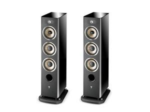 Focal 2 x Aria 926 3-Way Floor Standing Speakers, Black Piano Lacquer, Pair