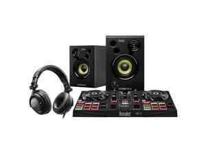 Hercules Perfect All-In-One DJ Learning Kit, DJControl Inpulse 200 Controller