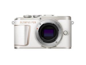 Olympus PEN E-PL10 Mirrorless Digital Camera Body, White #V205100WU000