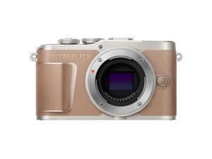 Olympus PEN E-PL10 Mirrorless Digital Camera Body, Brown #V205100NU000