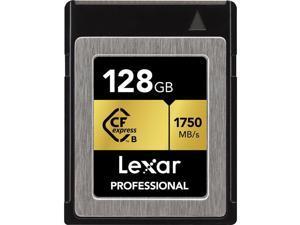 Lexar 128GB Professional CFexpress Type-B Memory Card #LCFX10-128CRBNA