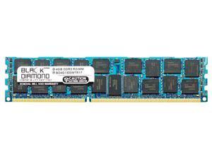 4GB RAM Memory for IBM BladeCenter HS22 (Type 7870) 240pin PC3-10600 DDR3 ECC Registered RDIMM 1333MHz Black Diamond Memory Module Upgrade