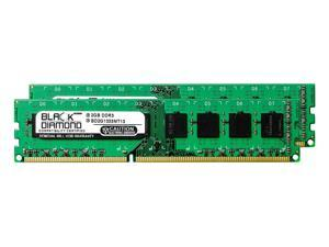 4GB 2X2GB RAM Memory for Dell Inspiron Desktop 570 DDR3 DIMM 240pin PC3-10600 1333MHz Black Diamond Memory Module Upgrade