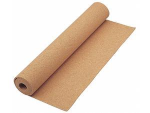 """Bulletin Board Roll,  48"""" Height,  24"""" Width,  Natural Cork,  Number of Pieces 1"""
