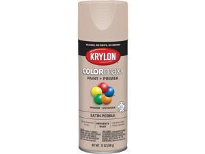 Krylon ColorMaxx 12 Oz. Satin Spray Paint, Pebble K05572007