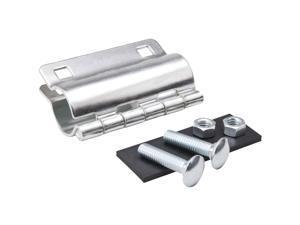 B&K 1-1/2 In. Galvanized Pipe Repair Clamps 160-807