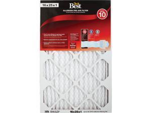 Do it Best 16 In. x 25 In. x 1 In. Allergen Pro MERV 10 Furnace Filter Pack of 6