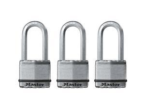 Master Lock Magnum 2 In. Keyed Alike Padlock (3 Pack) M5XTRILH