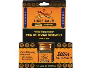 Tiger Balm 0.63 Oz. Ultra Strength Pain Relieving Ointment T-31510