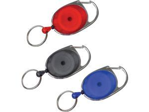 Lucky Line Retractable 24 In. Retractable Key Chain 64001