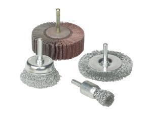Weiler Vortec 4 pcs Abrasive Wheel & Brush Set 36455