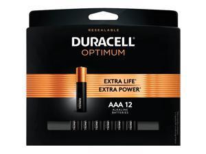 Duracell Optimum AAA Batteries, Pack of 12