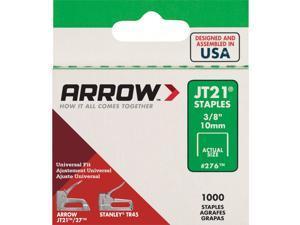 Arrow JT21 Light Duty Staple, 3/8 In. (1000-Pack) 276 Pack of 5
