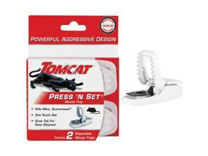 Tomcat Press 'N Set Mechanical Mouse Trap (2-Pack) 0360710