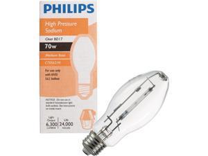 Philips 70W Clear BD17 Medium High-Pressure Sodium High-Intensity Light Bulb
