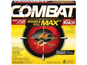 Combat Source Kill Max 0.49 Oz. Solid Large Roach Bait Station (8-Pack)