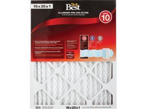 Do it Best 16 In. x 20 In. x 1 In. Allergen Pro MERV 10 Furnace Filter Pack of 6
