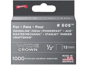 """Arrow Fastener 1/2"""" Heavy Duty Staple 60830 Pack of 5"""