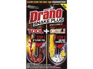 Drano 16 Oz. Snake Plus Gel Drain Cleaning Kit 70241