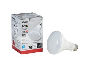 Satco 10w Br30 Led Med Bulb S29628