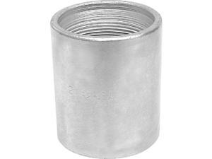 Southland 1-1/2 In. x 1-1/2 In. FPT Standard Merchant Galvanized Coupling