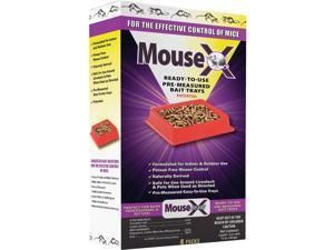 MouseX Disposable Mouse Pre-Measured Bait Tray (4-Pack) 620109