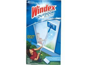 Windex Outdoor All-in-One Glass Cleaning Tool Kit 70117