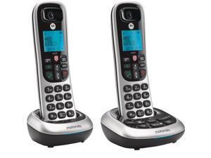 Motorola MOTO-CD4012 Integrated Cordless ITAD 2HS Caller ID Answering Machine