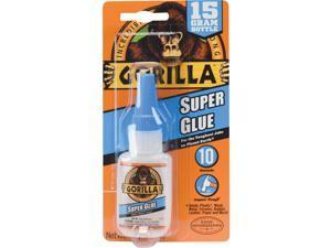 Gorilla Super Glue 15G Bottle GORILLA PVC CEMENT LLC Super Glue 7805002
