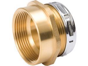 B&K 1-1/4 In. x 1-1/2 In. Brass Waste Adapter 158-976